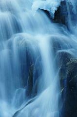 Krimmler-Wasserfall im Winter