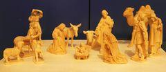 Krippe handgeschnitzt zum Christfest aus dem Grödnertal der 90ziger Jahre