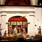 Krippe in der Pfarrkirche St. Cyriakus in Krefeld-Hüls