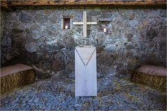 Krippe und Kreuz am Pilgerweg