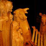 Krippen Figuren aus Holz