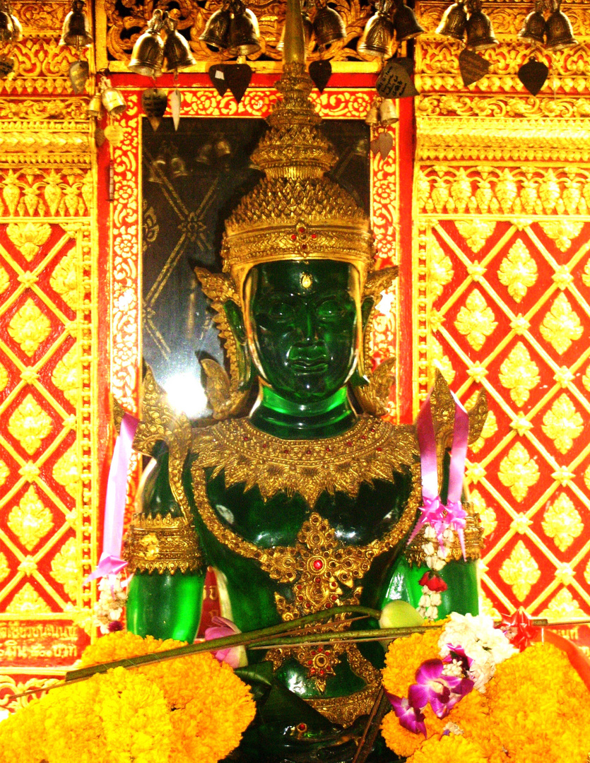 Kristall Buddha