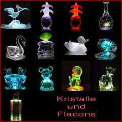 Kristalle + Flacons