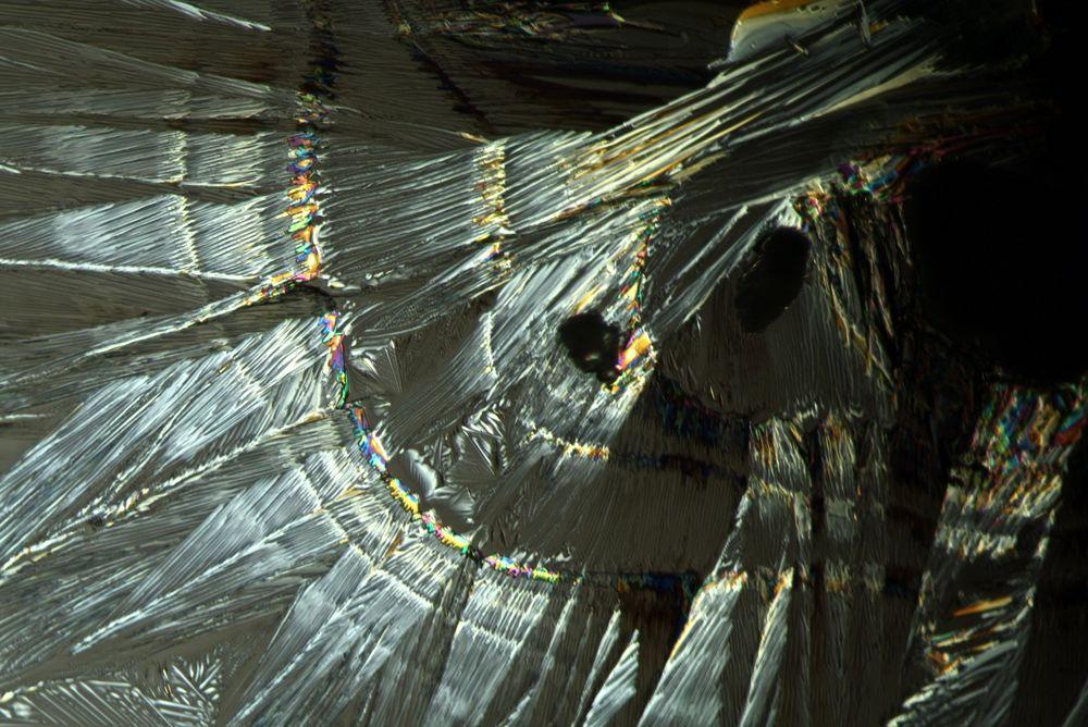 Kristalle Sacharin-natrium