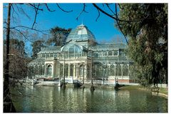 Kristallpalast im Park Retiro Madrid #1