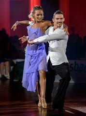 Kristina Moshenska&Marius-Andrei Balan bei der Rumba