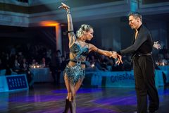 Kristina Moshenska&Marius-Andrei Balan beim ChaChaCha