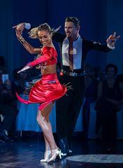 Kristina Moshenska&Marius-Andrei Balan beim Jive