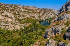 Krka Kaskaden, Nationalpark Krka, Dalmatien, Kroatien