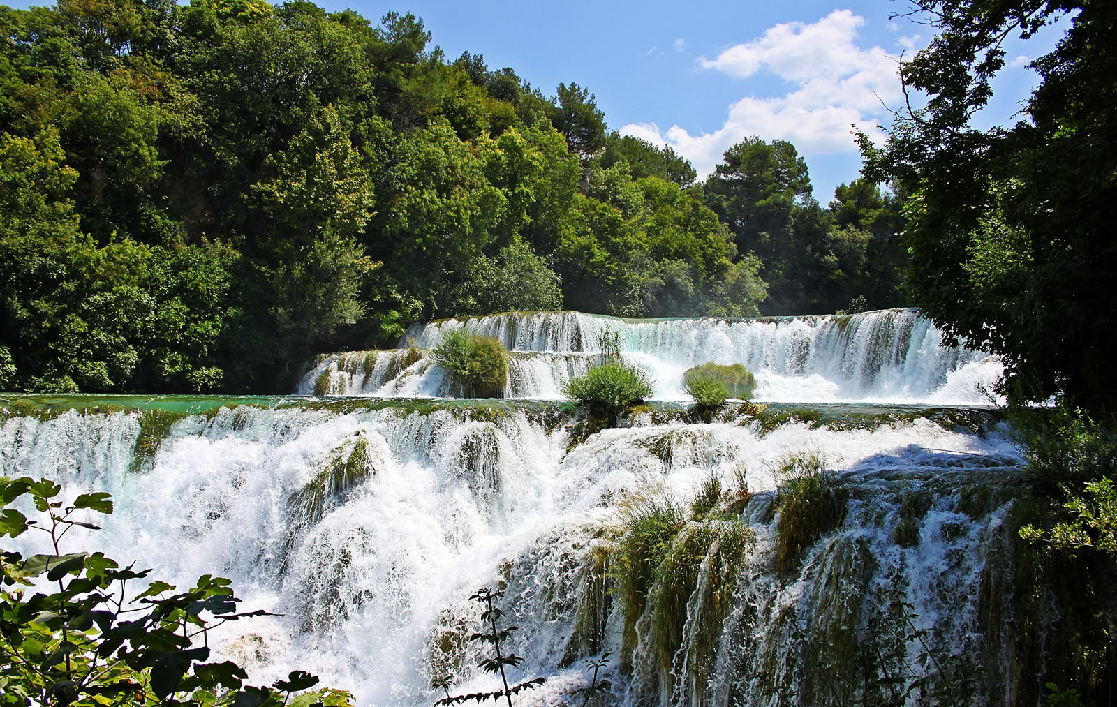 Krka Wasserfälle