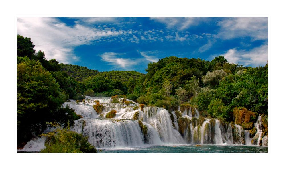 KRKA - Wasserfälle