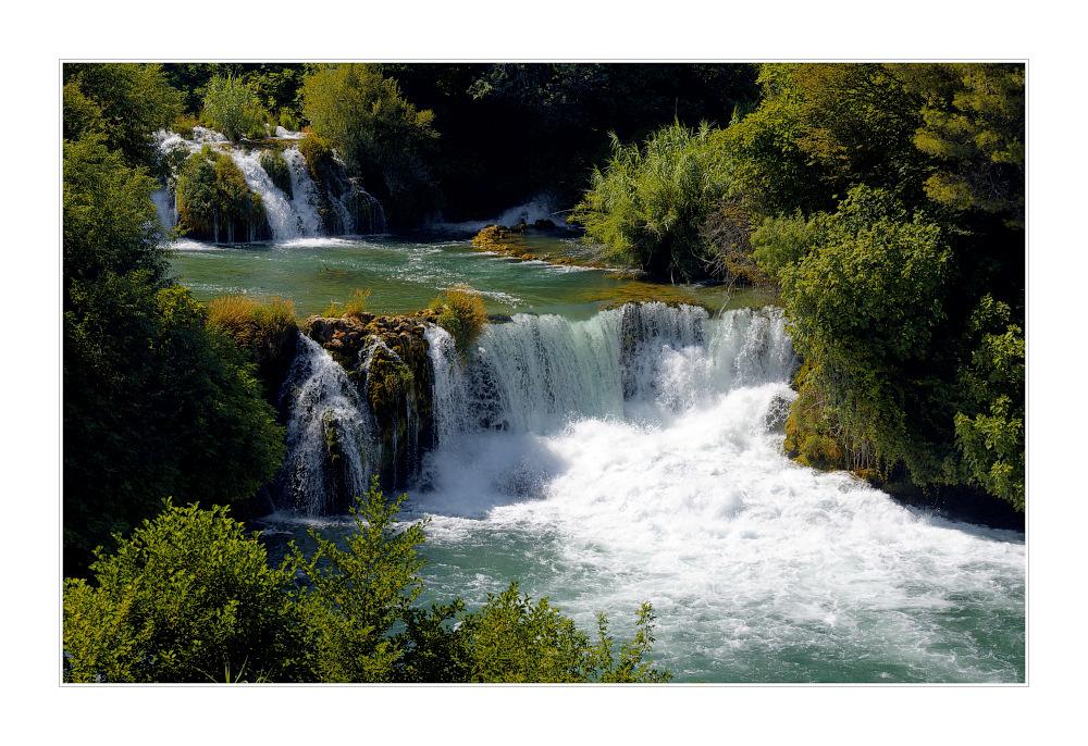 KRKA - Wasserfälle V