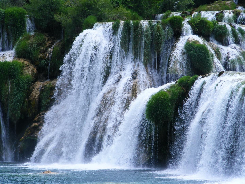 Krka-Wasserfälle/Dalmatien 4