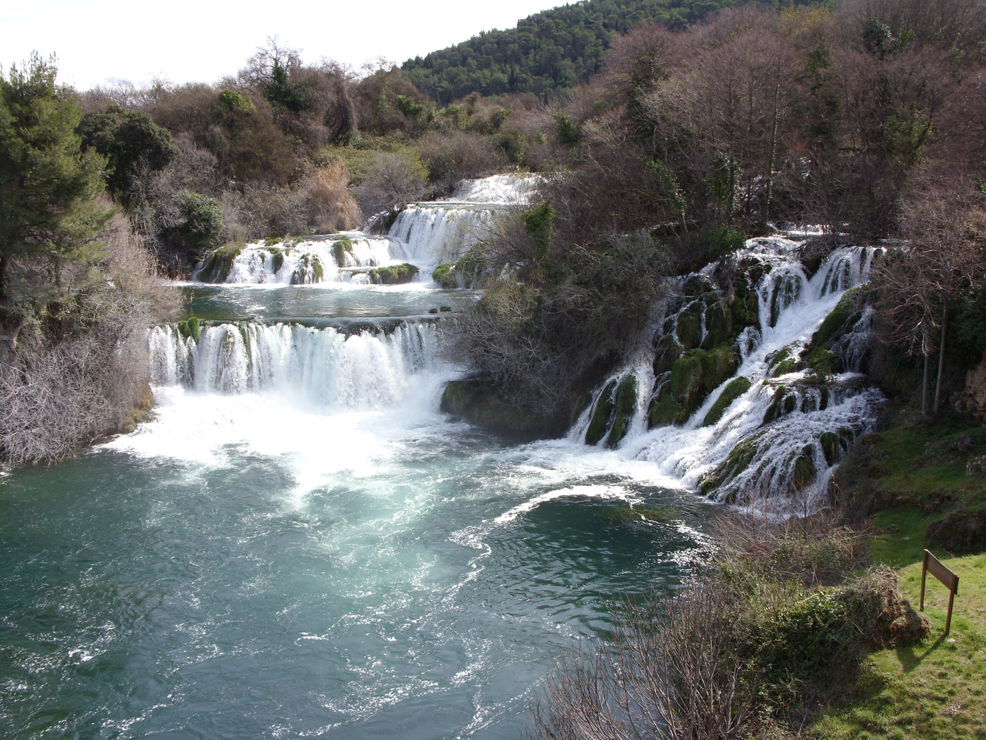 Kroatien - Krka Nationalpark.