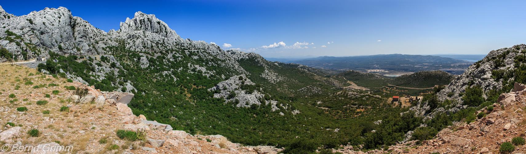 Kroatien: Velebitgebirge