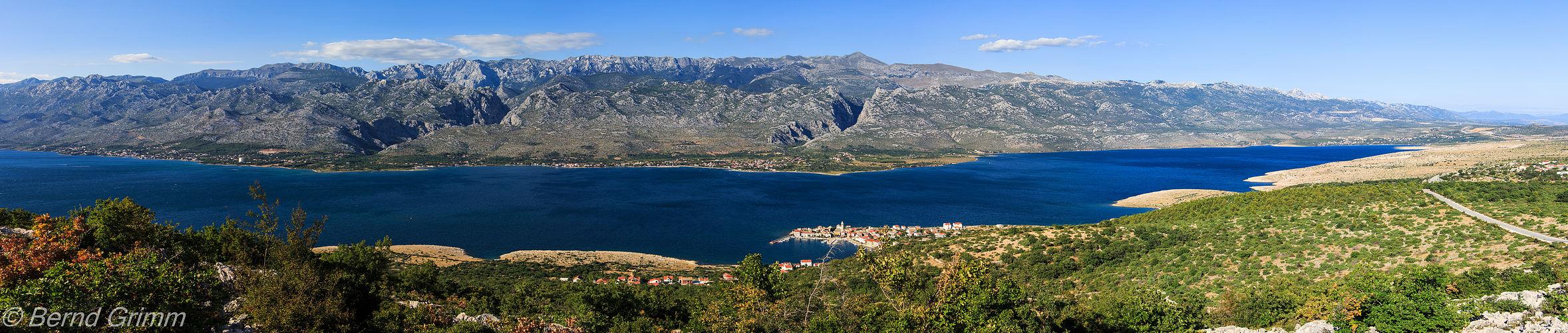 Kroatien: Velebitgebirge..