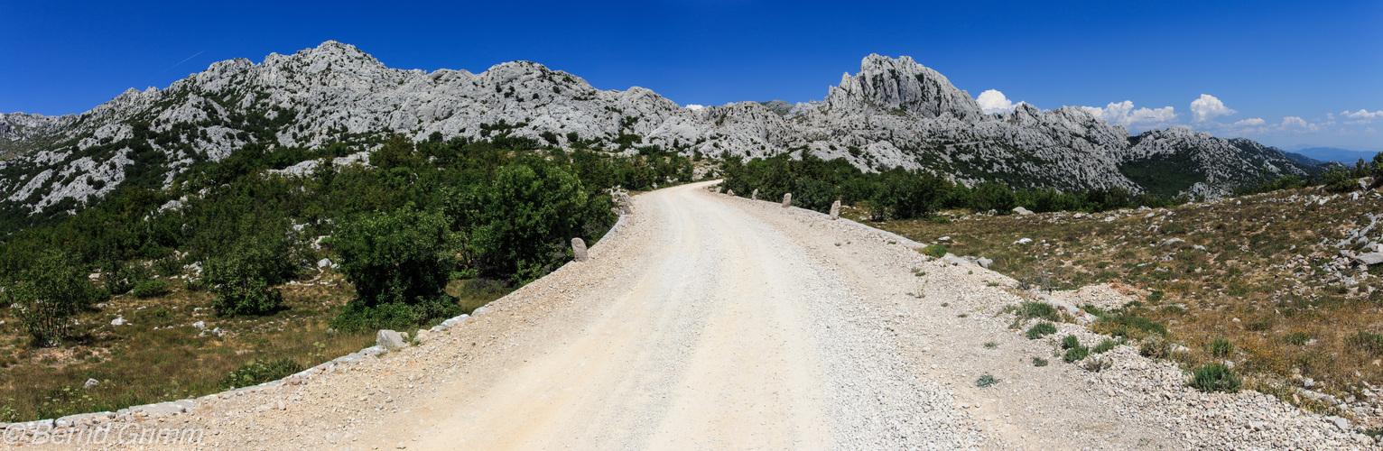 Kroatien: Velebitgebirge.