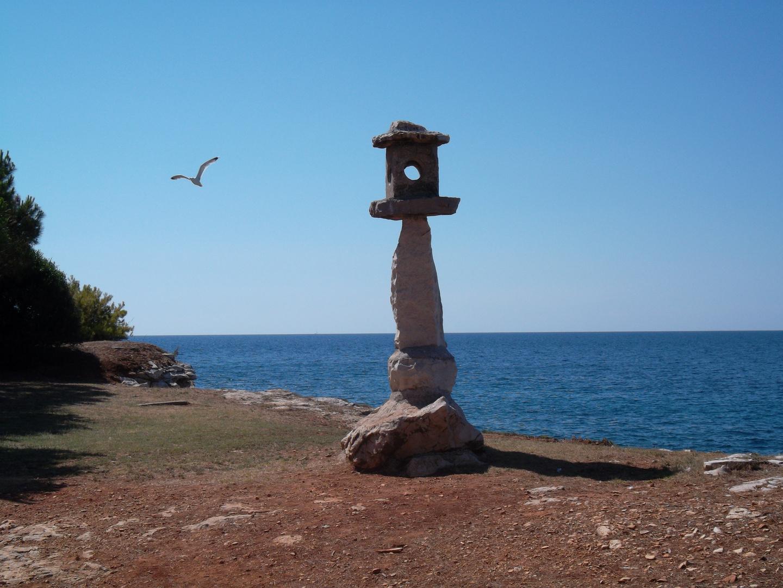 Kroatien Vogelhaus aus Stein