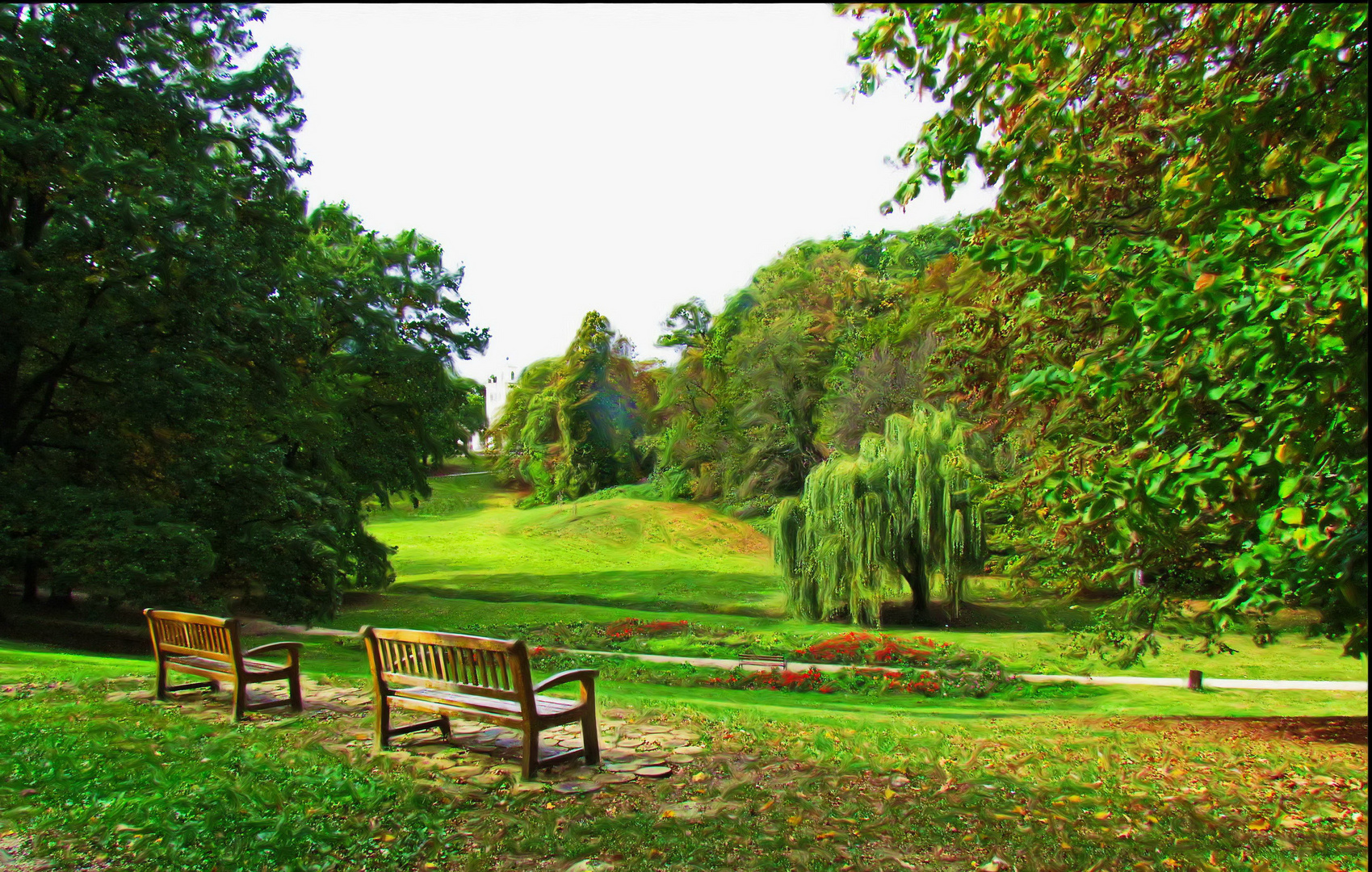 Kroatien - Zagreb Maximir Park