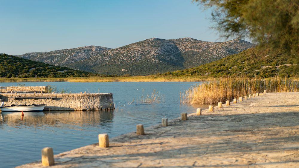 Kroatiens größter See, der Vransko Jezero