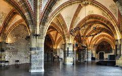 Krönungssal im Aachener Rathaus