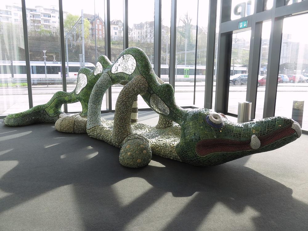 Krokodil? Lindwurm?