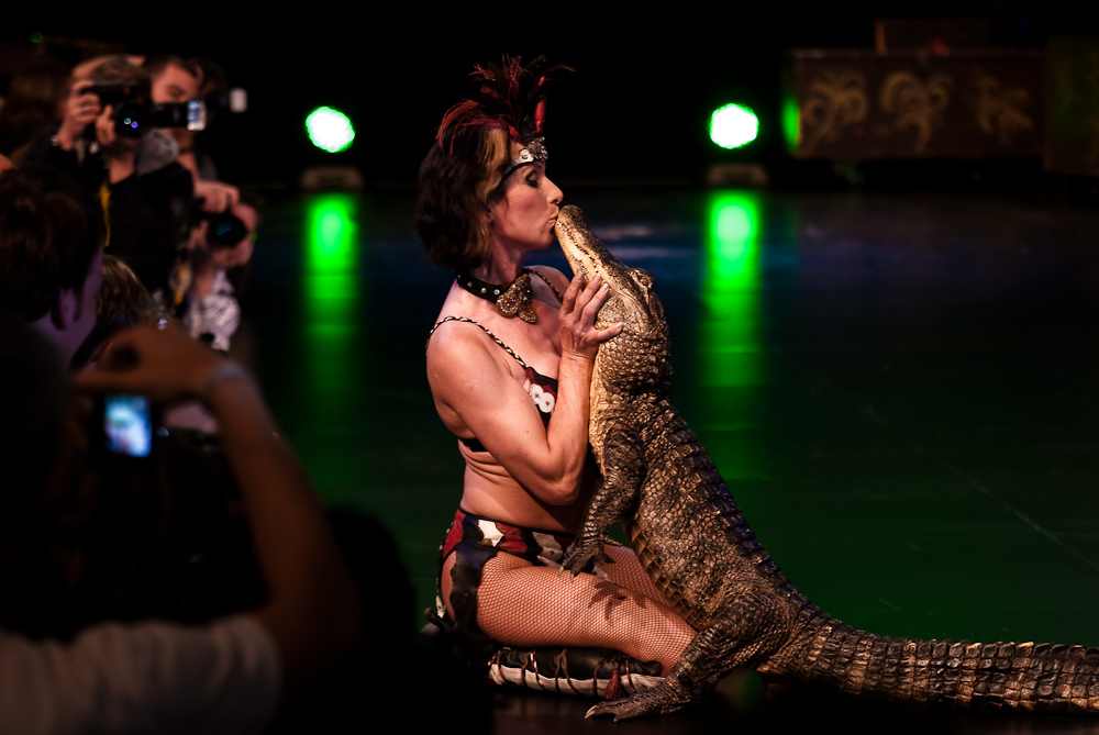 Krokodilskuss @ Nikon Solutions Expo