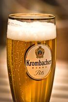Krombacher Pils....