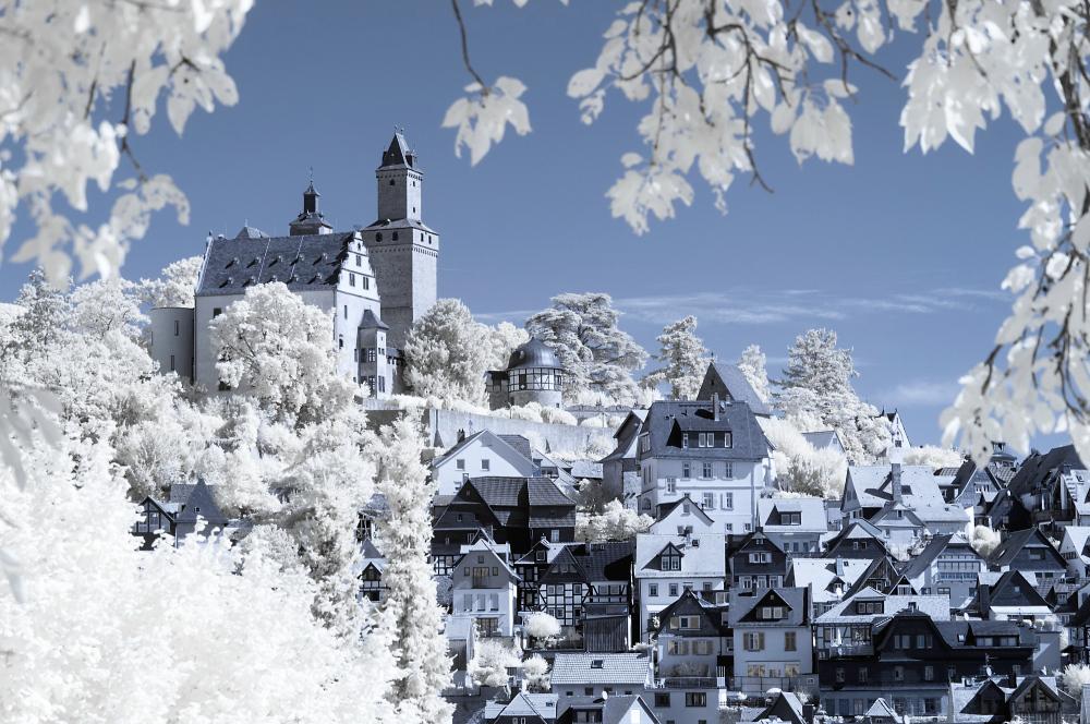Kronberg Burg und Stadt