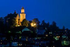 Kronberg zur blauen Stunde