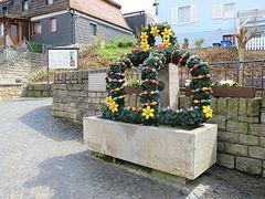 Krone am Osterbrunnen