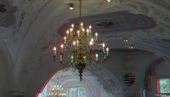 Kronleuchter im Neuen Schloss von Bad Muskau