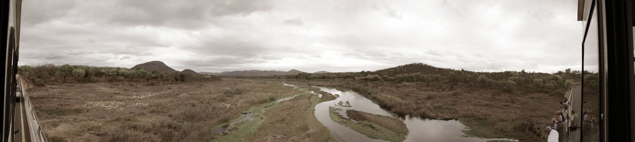 Kruger Park - Flußbett vor der Regenzeit