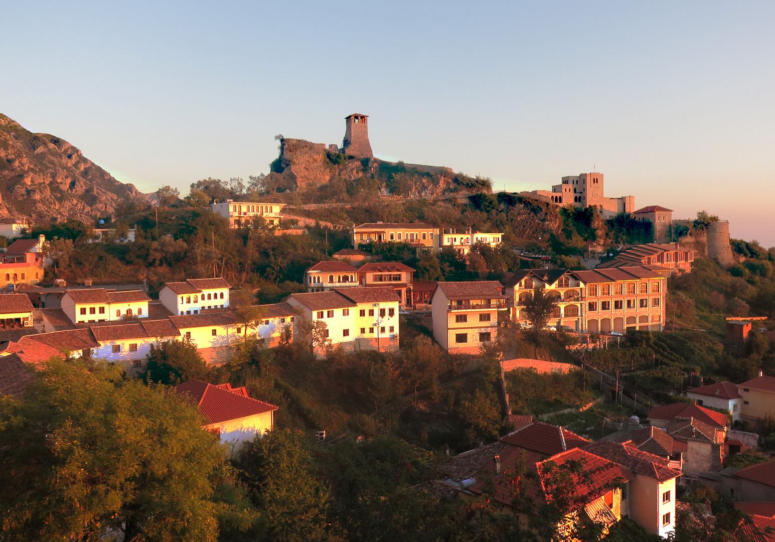 Kruje Festung Skanderbeg