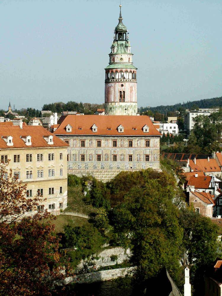 Krumau - Ceske Krumlov - Burg