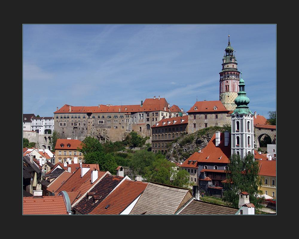 Krumlov - Schlossanlage