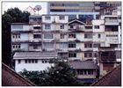Krung Thep Housing oder Ein Traum aus Pastell - Bangkok