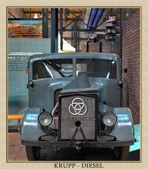 Krupp Lastkraftwagen mit einem 4 Zylinder Boxermotor