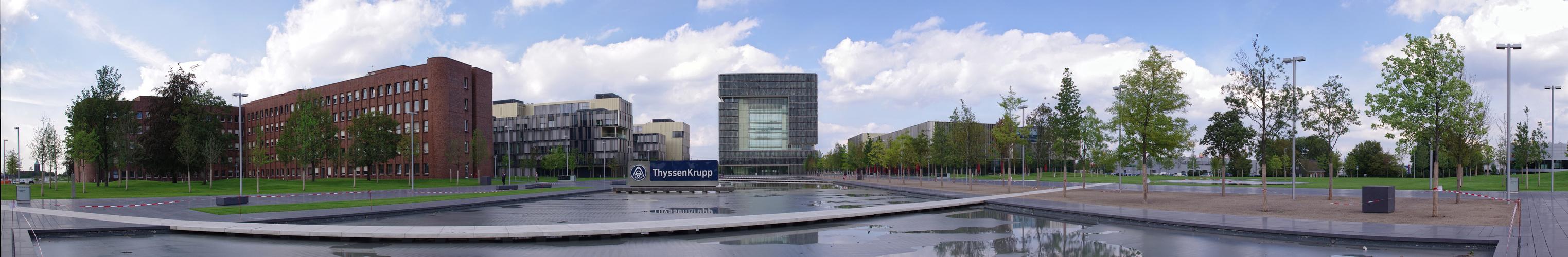 Krupp Quartier in Essen (1)