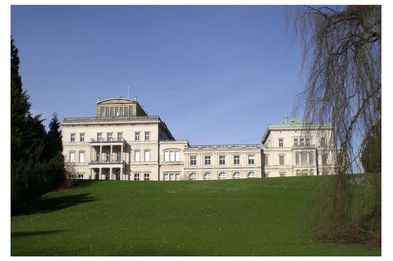 """Krupp-""""Villa Hügel"""" in Essen"""