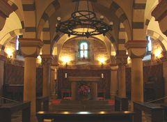 Krypta der Abteikirche Maria Laach