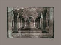 - Krypta des Domes Quedlinburg -