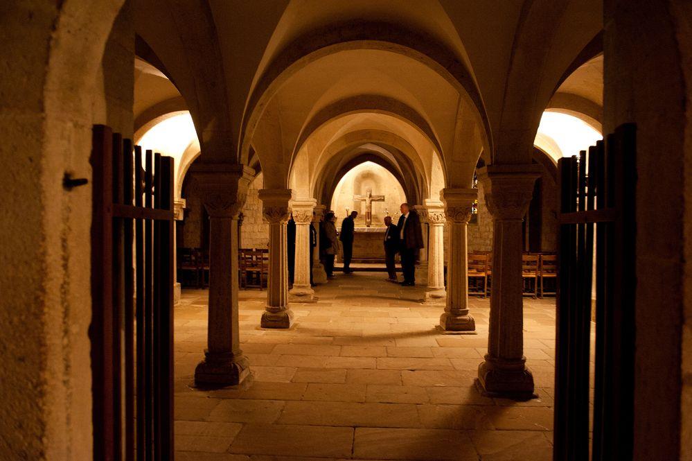 Krypta im Naumburger Dom (Saale)