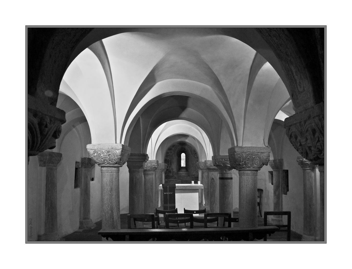 Krypta in der Chiesa San Vittore