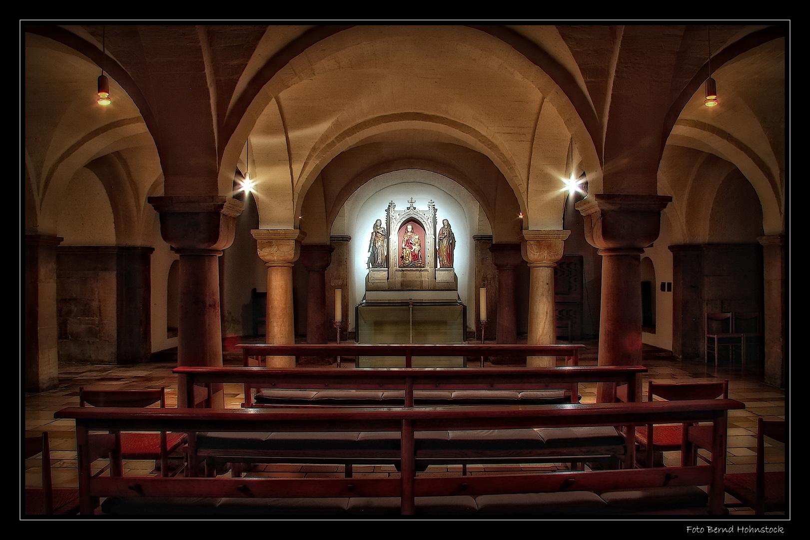 Krypta Münster St. Vitus Mönchengladbach ...