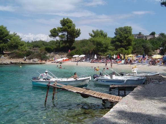 Ksamil Beach Albanien