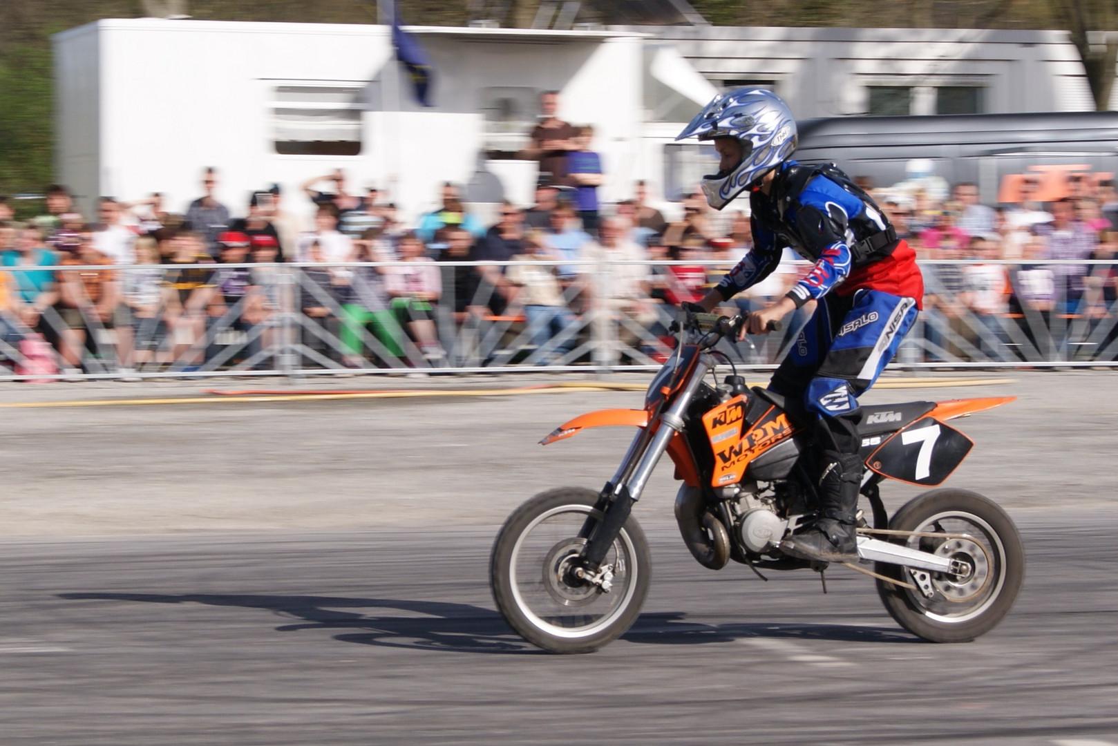 KTM Motorradstund Show