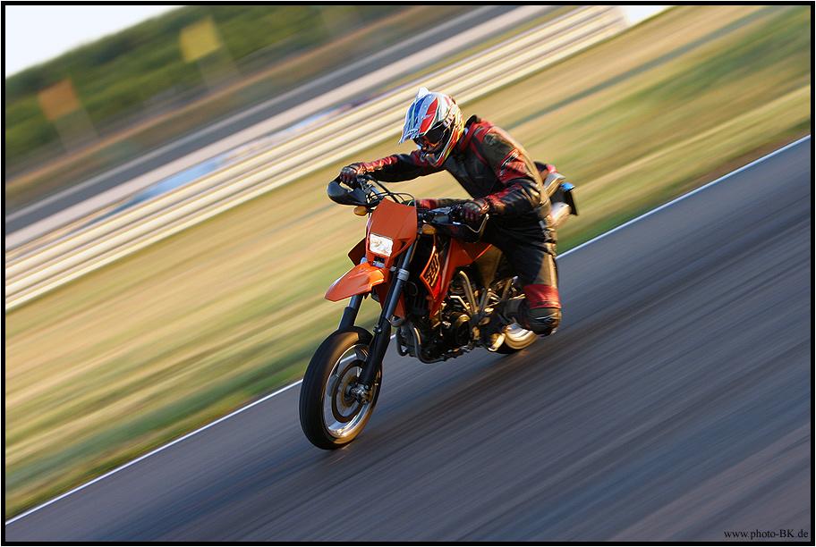 KTM on Race-Track