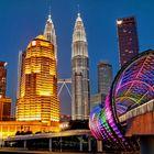 Kuala Lumpur blue hour
