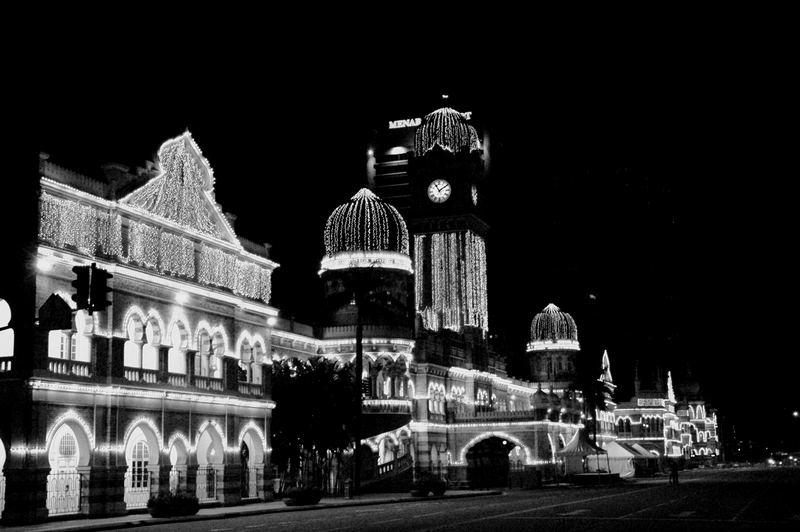 Kuala Lumpur, Malaysia. The Big Ben. Town Hall Square